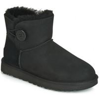 Schuhe Damen Schneestiefel UGG BAILEY BUTTON Noir
