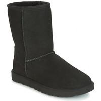 Schuhe Damen Schneestiefel UGG CLASSIC SHORT Noir