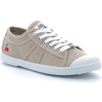 Schuhe Herren Tennisschuhe Le Temps des Cerises BASIC 02 Beige