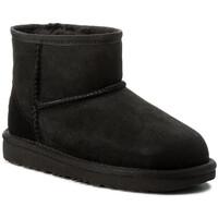 Schuhe Kinder Schneestiefel UGG CLASSIC MINI II Noir