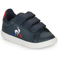 Schuhe Kinder Sneaker Low Le Coq Sportif COURTSET INF Marine / Rot