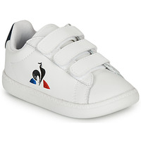 Schuhe Kinder Sneaker Low Le Coq Sportif COURTSET INF Weiss