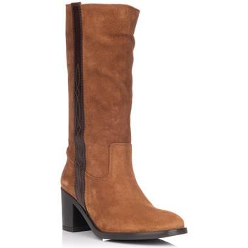 Schuhe Damen Klassische Stiefel Zapp 9053 Braun