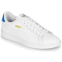 Schuhe Herren Sneaker Low Puma PUMA SMASH V2 L Weiss