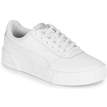 Schuhe Damen Sneaker Low Puma CARINA Weiss