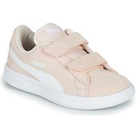 Schuhe Kinder Sneaker Low Puma Puma Smash v2 SD V PS Rose