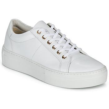 Schuhe Damen Sneaker Low Vagabond ZOE PLATFORM Weiss