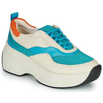 Schuhe Damen Sneaker Low Vagabond SPRINT 2.0 Beige / Blau