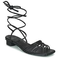 Schuhe Damen Sandalen / Sandaletten Vagabond Shoemakers ANNI Schwarz