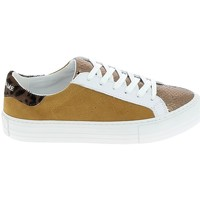 Schuhe Damen Sneaker Low No Name Arcade Bronze Safran Braun