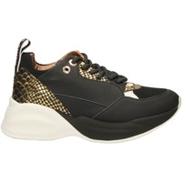 Schuhe Damen Sneaker Low Alexander Smith LONDON EYE black-gold