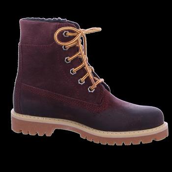 Schuhe Mädchen Boots Däumling Schnuerstiefel 080031S 0000080031S0123 rot