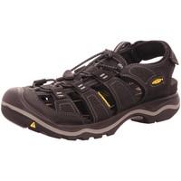 Schuhe Damen Wanderschuhe Keen Sandaletten RIALTO II M-BLACK/GARGOYLE 1021371 schwarz