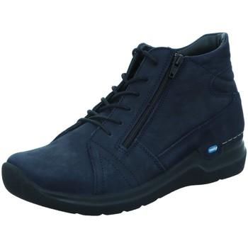 Schuhe Damen Stiefel Wolky Stiefeletten Onani blau