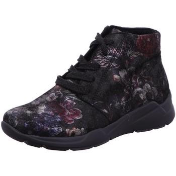 Schuhe Damen Stiefel Semler Stiefeletten Emma -H- E 35053.089.001 schwarz