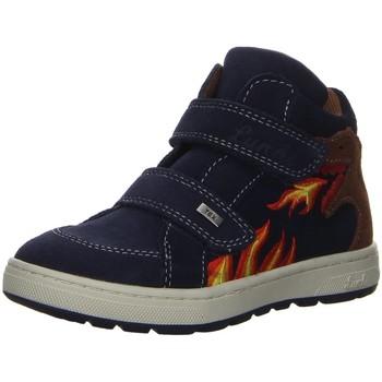 Schuhe Jungen Derby-Schuhe & Richelieu Lurchi Klettschuhe Dino- Tex 33-13513-22 blau