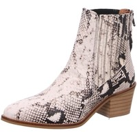 Schuhe Damen Stiefel Dna Stiefeletten Western-Stiefelette 514549 bianco grau