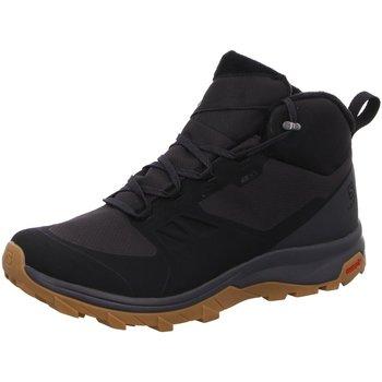 Schuhe Herren Boots Salomon Outsnap CSWP L40922000 schwarz