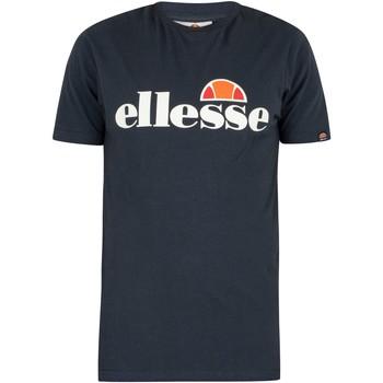 Kleidung Herren T-Shirts Ellesse Herren SL Prado T-Shirt, Blau blau