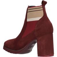 Schuhe Damen Low Boots CallagHan - Tronchetto bordeaux 25704 BORDEAUX