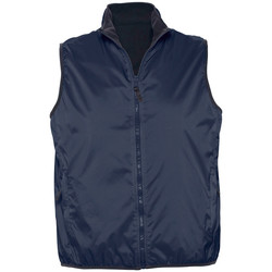 Kleidung Strickjacken Sols WINNER UNISEX REVERSIBLE Azul