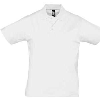 Kleidung Herren Polohemden Sols PRESCOTT CASUAL DAY Blanco