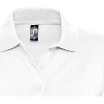 Kleidung Damen Polohemden Sols PRESCOTT CASUAL DAY Blanco