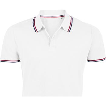 Kleidung Herren Polohemden Sols PRESTIGE MODERN MEN Blanco