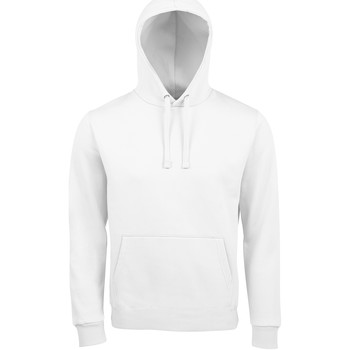 Kleidung Herren Sweatshirts Sols SPENCER KANGAROO MEN Blanco