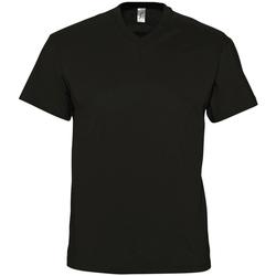 Kleidung Herren T-Shirts Sols VICTORY COLORS Negro