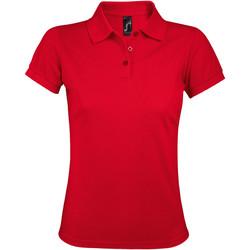 Kleidung Damen Polohemden Sols PRIME ELEGANT WOMEN Rojo