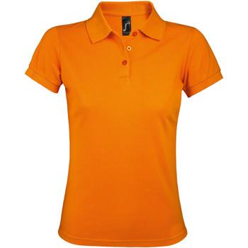 Kleidung Damen Polohemden Sols PRIME ELEGANT WOMEN Naranja