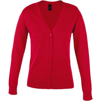Kleidung Damen Strickjacken Sols GOLDEN ELEGANT WOMEN Rojo