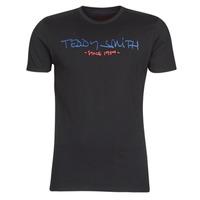 Kleidung Herren T-Shirts Teddy Smith TICLASS Schwarz