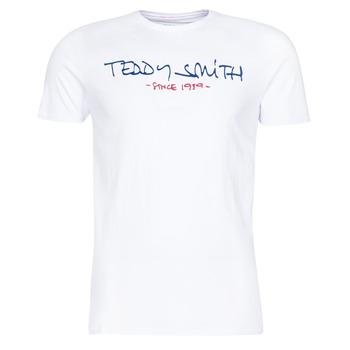 Kleidung Herren T-Shirts Teddy Smith TICLASS Weiss