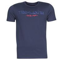 Kleidung Herren T-Shirts Teddy Smith TICLASS Marine