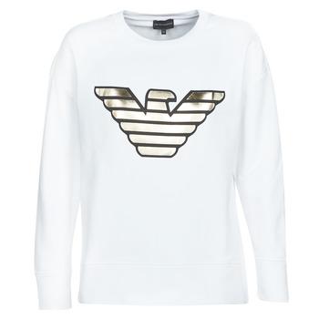 Kleidung Damen Sweatshirts Emporio Armani DJIMMY Weiss
