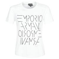 Kleidung Damen T-Shirts Emporio Armani DONOVANN Weiss