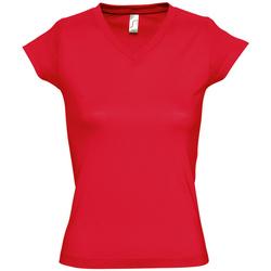 Kleidung Damen T-Shirts Sols MOON COLORS GIRL Rojo