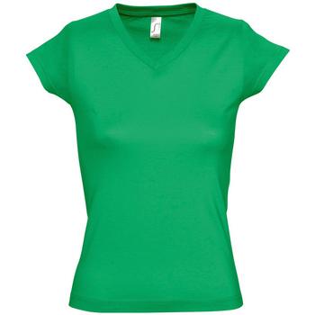 Kleidung Damen T-Shirts Sols MOON COLORS GIRL Verde
