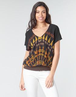 Kleidung Damen Tops / Blusen Desigual NAPOLES Multicolor