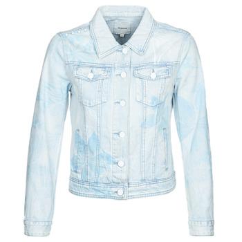 Kleidung Damen Jeansjacken Desigual WHAII Blau