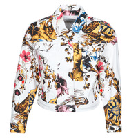 Kleidung Damen Jeansjacken Desigual FANTASY Multicolor