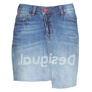 Kleidung Damen Röcke Desigual LOG Blau
