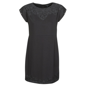 Kleidung Damen Kurze Kleider Desigual BANQUET Schwarz