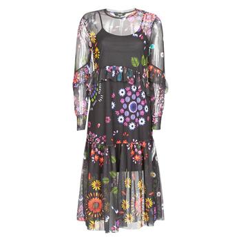 Kleidung Damen Maxikleider Desigual PORTLAND Multicolor