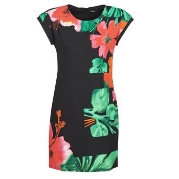 Kleidung Damen Kurze Kleider Desigual PACIFIC OCEAN Multicolor
