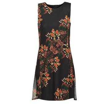Kleidung Damen Kurze Kleider Desigual PAPILLON Multicolor