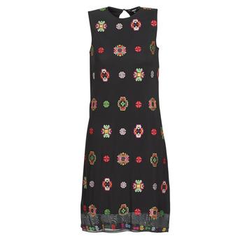 Kleidung Damen Kurze Kleider Desigual TRESOR Multicolor
