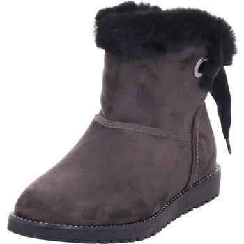 Schuhe Damen Stiefel Pep Step - 7921903 grau